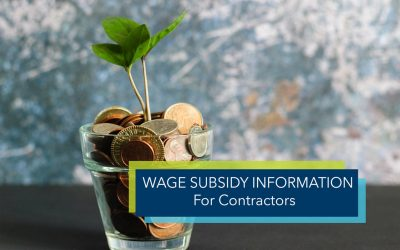 Wage Subsidy Information For Contractors